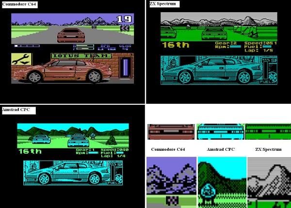 Lotus na CPC, ZX a C64
